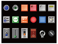 4,096-color parts libraries