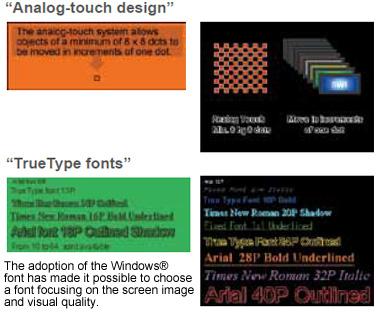 Highly flexible screen design!