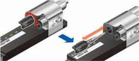 Easy discharge needle maintenance