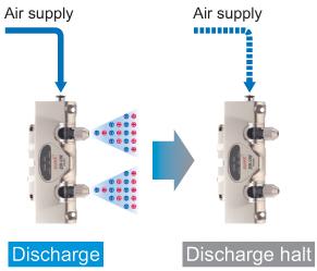 Air supply monitoring function